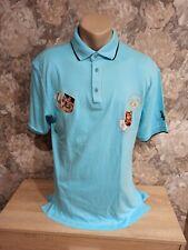 La Martina mens T-Shirt blue light color size-2XL