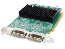 Matrox Dual Head 2x DVI 128MB DDR2 RAM PCI-E Express Graphics Card Grafik-Karte