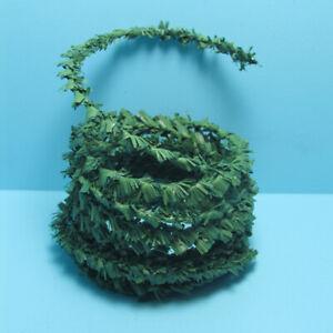 Dollhouse Miniature Green Evergreen Holiday Garland 17 feet DDL986