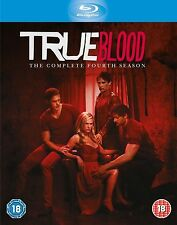 True Blood Season 4 Blu ray Anna Paquin, Alexander Skarsgaard, Sam NEW SEALED UK