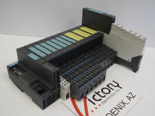 Siemens X1 Profibus-Dp Interface Module 6Es7 151-1Ba02-0Ab0 w/ 11 Modules (Wb)