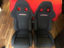 Mini Cooper S R53 R52 R50 JCW Sitze Sportsitze Sparco Stoff schwarz