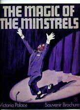 The Magic of Minstrals Souvenir Brochure. Victoria Palace 1968?