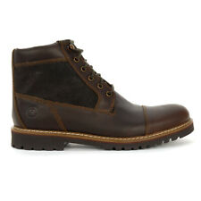 Rockport Men's Marshall Rugged Cap Toe Saddle Brown Short Boot CH2443 NEW