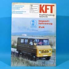 DDR KfT Kraftfahrzeugtechnik 12 1978 Zuk Citroen Visa Mercedes T-Reihe Mustan 64