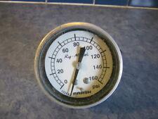 New listing Vintage Rig Master Marsh Gauge 0-160 Psi 1334A2