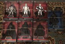Star Wars Disney Store Elite Series Lot Of 7 figures Pre-owned