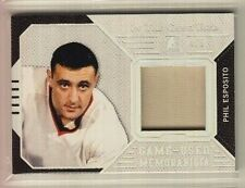 2015-16 ITG Used Phil Esposito Jersey Silver Prismatic Jersey (4/5)