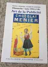 CATALOGUE VENTE 1998 CHARTRES ART PUBLICITE TRANSPORTS PARFUMERIE ASSURANCES ...