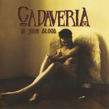 CADAVERIA In Your Blood CD (Female Fronted Black Gothic Metal)