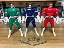 Bandai Mighty Morphin Power Rangers Turbo Flip Head Action Figures Lot