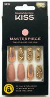 Kiss Masterpiece One-Of-A-Kind Luxe Mani Nails NIP 82968 KMN100F