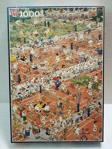 🔥 TENNIS 1000 Piece Puzzle JUMBO Jan Van Haasteren 1693 NEW SEALED