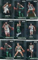 LOT (12) 2018-19 PRIZM BOSTON CELTICS LARRY BIRD JAYLEN BROWN BILL RUSSELL 5288