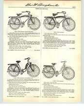 1941 PAPER AD Speed King Bicycle Shockmaster Fork Tank Model