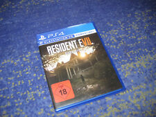 Resident Evil 7 Biohazard VII Sony Playstation 4 VR compatible jeu ps4 article neuf