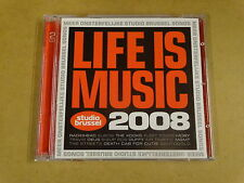 2-CD STUDIO BRUSSEL / LIFE IS MUSIC 2008