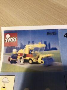 Lego Street Sweeper 6645 (1991)