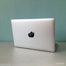 Sleeping CAT Macbook Sticker Laptop Decal Mac Pro Air Retina Black MACNIP