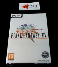 FINAL FANTASY XIV ONLINE PC DVD Pal-España Español NUEVO NEW Precintado