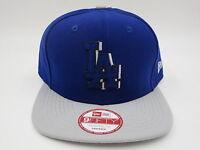 Los Angeles Dodgers Blue Throwback Retro New Era 9FIFTY MLB Snapback Hat Cap