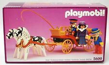 Vintage Playmobil 5600 ~ Horse Drawn Carriage for Victorian Mansion 5300 ~ NISB
