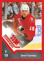 2016-17 Upper Deck Team Canada Juniors Hockey Retro Pick From List