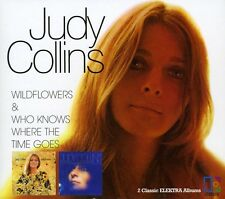 Judy Collins - Wildflowers / Who Knows Where the Time Goes [New CD]