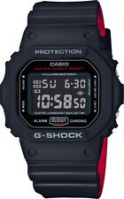 BRAND NEW CASIO G-SHOCK DW5600HR-1 BLACK/RED DIGITAL MENS WATCH NWT!!!