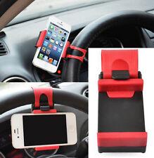Universal Car Steering Wheel Bike Clip Mount Holder For Samsung Iphone GPS Shelf
