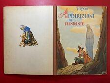 TERESAH - APPARIZIONI DEL VIANDANTE Mondadori (1950) Libro illustrato GOLIA