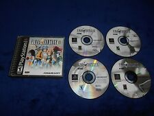 Final Fantasy IX 9 Game Playstation PS1 FFIX FF9 Black Label