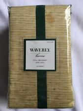 New Waverly Home Full Bedskirt Bamboo Pattern Dust Ruffle Bed Skirt Tropical