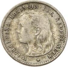 Kgr. Niederlande, Wilhelmina,10 Cents 1897
