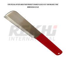 Maréchal-ferrant sabot Grattoir panardise Couteau Revêtement PVC acier inoxydable renforcé Toe knif
