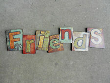 FRIENDS  Wall Plaque  Wood Composite