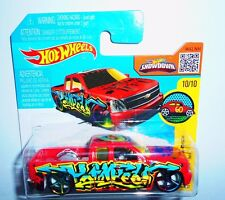 HOT WHEELS CHEVY SILVERADO ART CARS  MATTEL [1H]