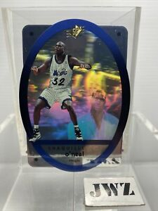 SHAQUILLE O'NEAL - ORLANDO MAGIC - SPx UPPER DECK Card - N0. 35 - HOLO