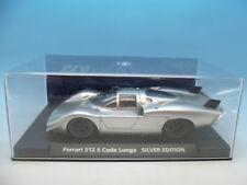 FLY 88118 FERRARI 512c CODALUNGA Silver Edition C-73, Menta ununsed
