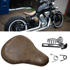 Motorcycle Solo Seat Leather Soft For Yamaha V Star 1300 1100 950 650 250 Bobber