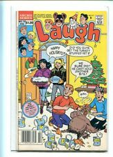 LAUGH #19 SOLID GRADE CANADIAN PRICE VARIANT ARCHIE GEM CHRISTMAS COVER