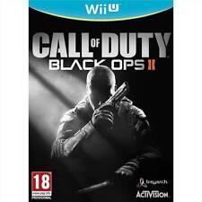 Jeu WII U CALL OF DUTY BLACK OPS II