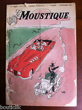 Tv Radio MOUSTIQUE du 5/9/1948; couverture Will/ John Ford/ Claude Rains/ Vitrau
