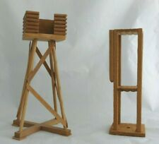 Mirador pour soldat plastique ou plomb - Décor pour diorama lot de 2 miradors