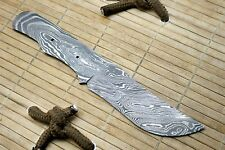 SBB-71 Custom HandMade Damascus Steel Blank Blade  For Knife Making