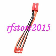 HXT 4mm banana bullet male to 3x JST Male parallel 15CM cable Power Breakout