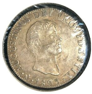 Mexico  1823  8 reales  KM 310     Empire of Iturbide     1821-23    XF +