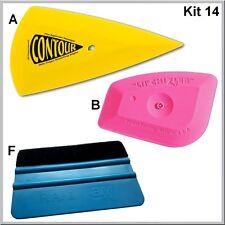 Kit n°14  une raclette blue téflon + une contour + une LiL' Chizler
