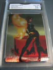 CATWOMAN 2016 FAERIE METAL PHILLY NON-SPORTS CARD SHOW PROMO # M2 GRADED 10