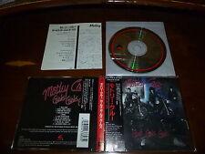 Motley Crue / Girls Girls Girls JAPAN 32XD-678 3200YEN 1ST PRESS!!!!! A2